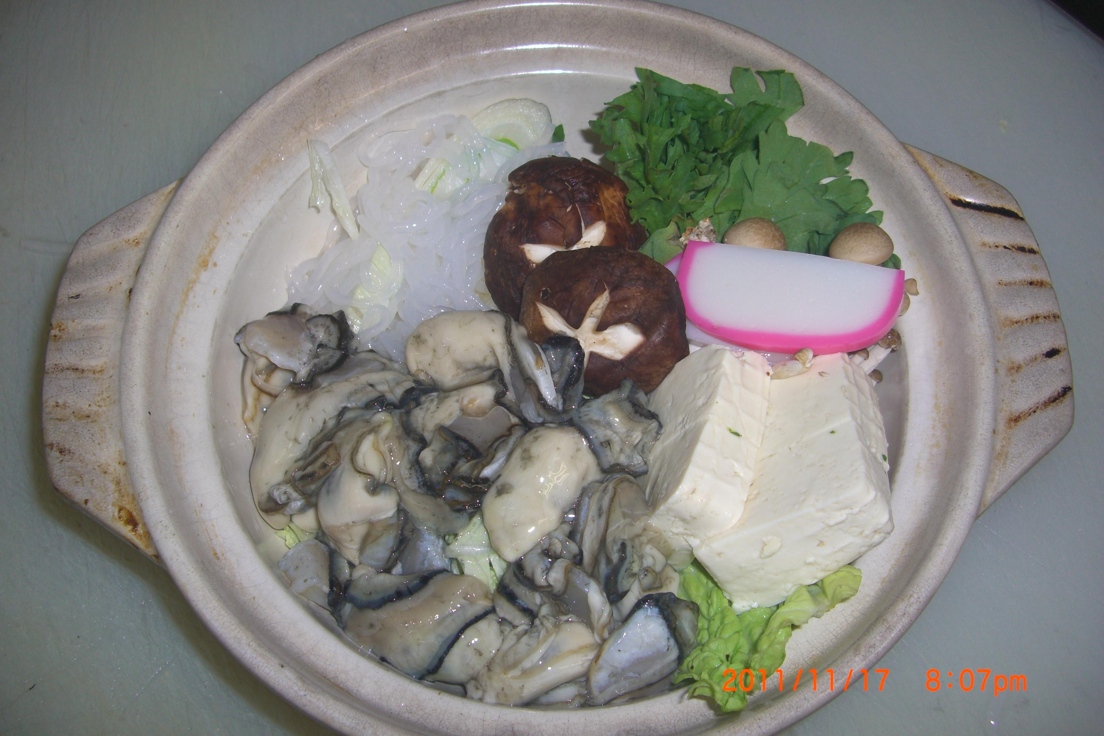 かき鍋(1人前)